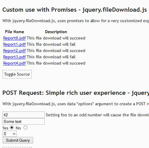 jQuery File Download Plugin for Ajax